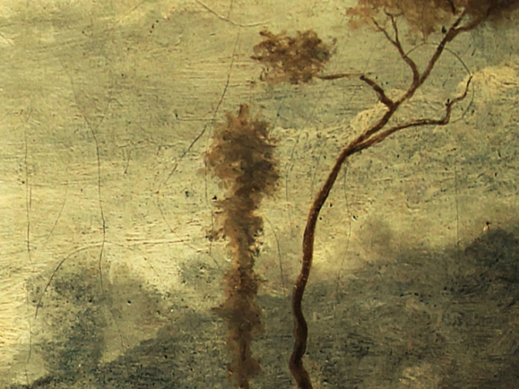 Corot, albero leonardesco