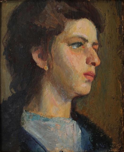 Edvard Munch Portrait Laura Munch