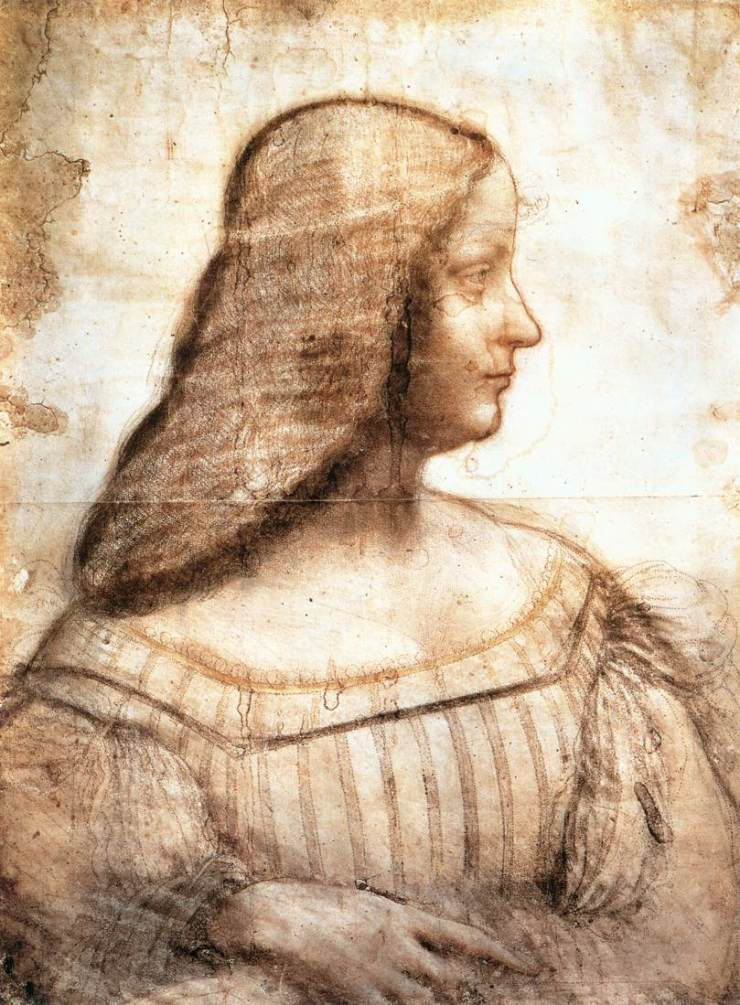Leonardo da Vinci - Profilo di donna