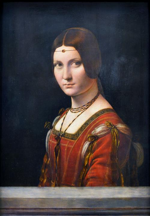 Opere di Leonardo da Vinci - Ritratto di Dama (Beatrice d'Este)