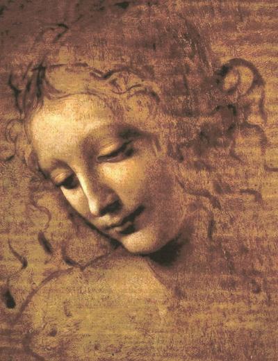 Leonardo da Vinci, titolo -Testa di fanciulla