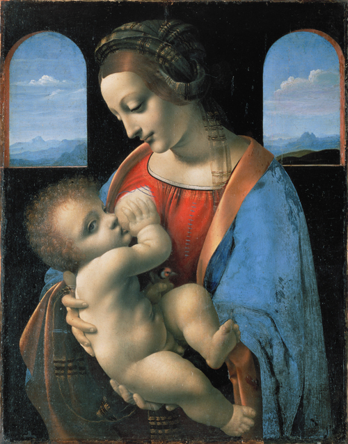 Leonardo_da_Vinci_attributed_-_Madonna_Litta
