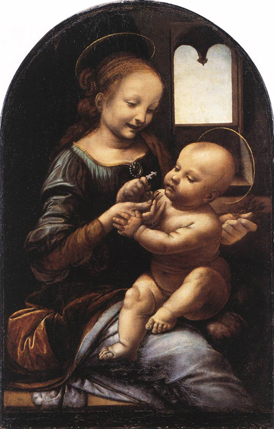 Leonardo_da_Vinci_Benois_Madonna