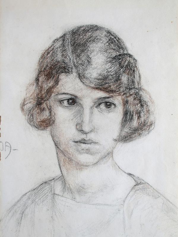 Lempicka, Ritratto di fanciulla