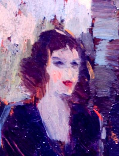 Schiele, Dark lady 1907