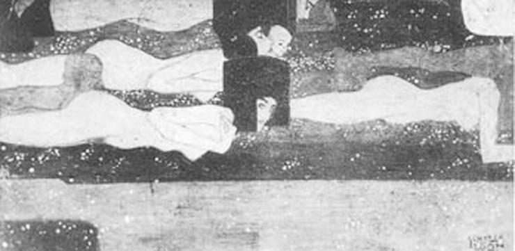 Schiele - Spiriti d'Acqua 1907