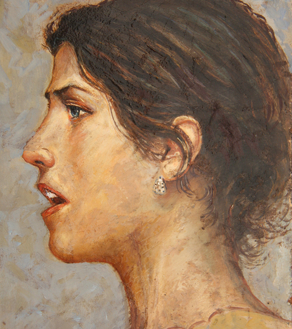 Ritratto di Olga khokhlova