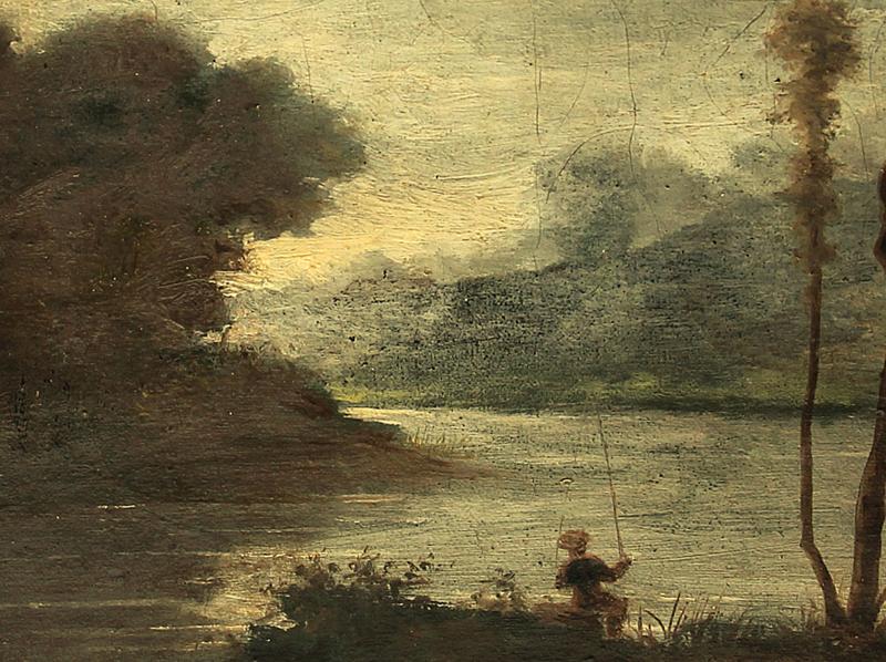 J.b.c.Corot, Paysage de lacMortefontaine