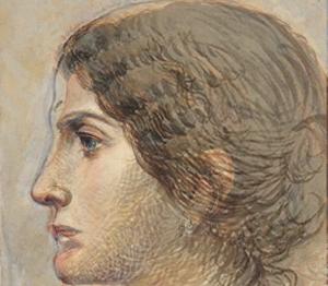 Pablo Picasso Portrait Olga Khoklova - Overlap drawing