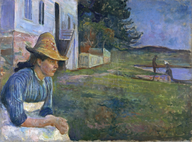 Edvard Munch - Evening