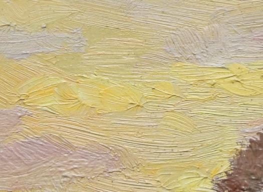 Monet, dettaglio ductus pittorico