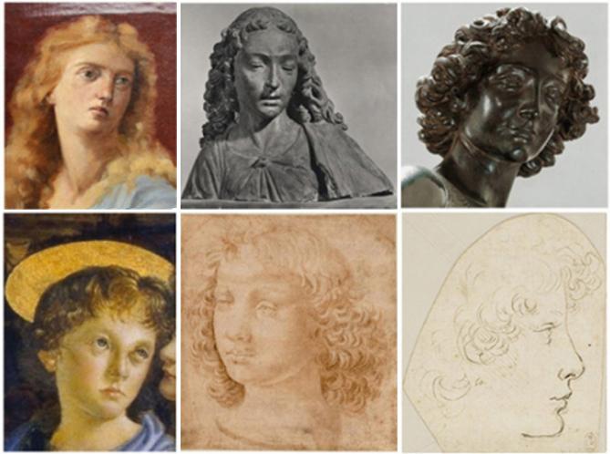 LLeonardo da Vinci, Autoritratto - Iconografia