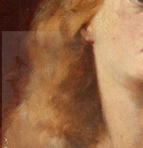 Leonardo da Vinci - Sovrapposizione Autoritratto di profilo - Autoritratto