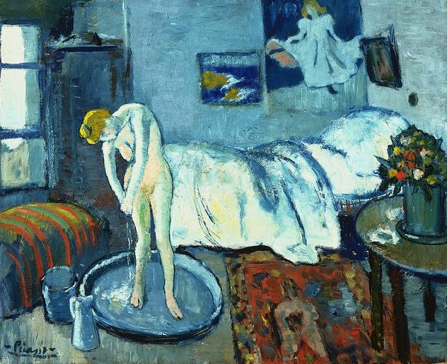 Pablo Ruiz Picasso - Blue room