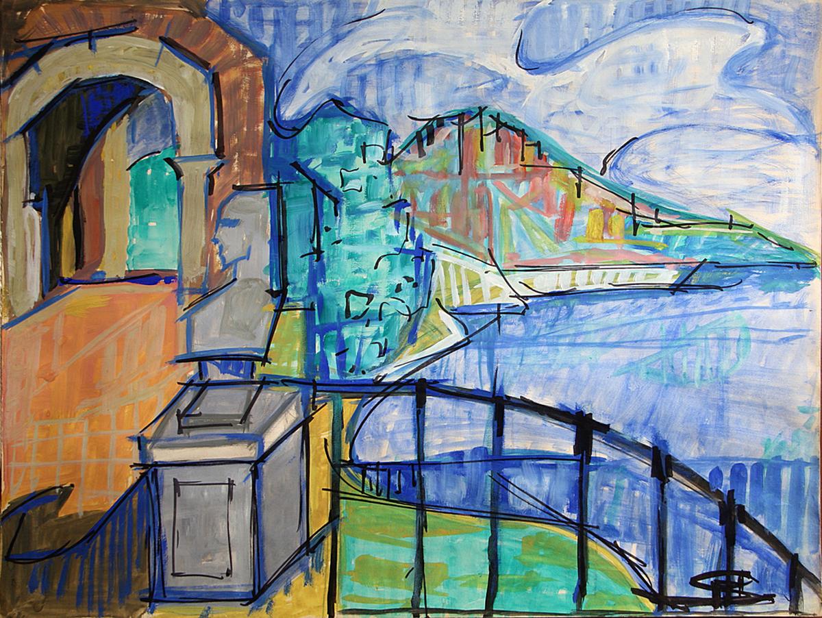 Pablo Picasso Landscape view - Paesaggi dell'Anima