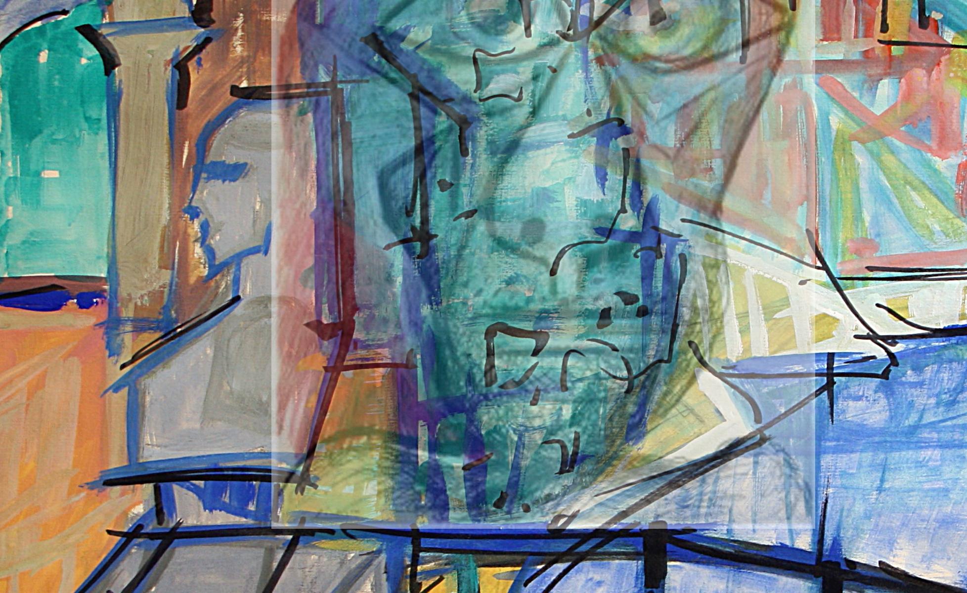 Pablo Ruiz Picasso - Lanscape-Self-portrait