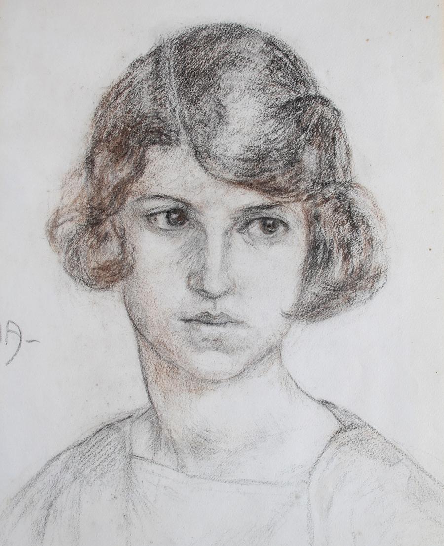 Pablo Ruiz Picasso - Ritratto di fanciulla
