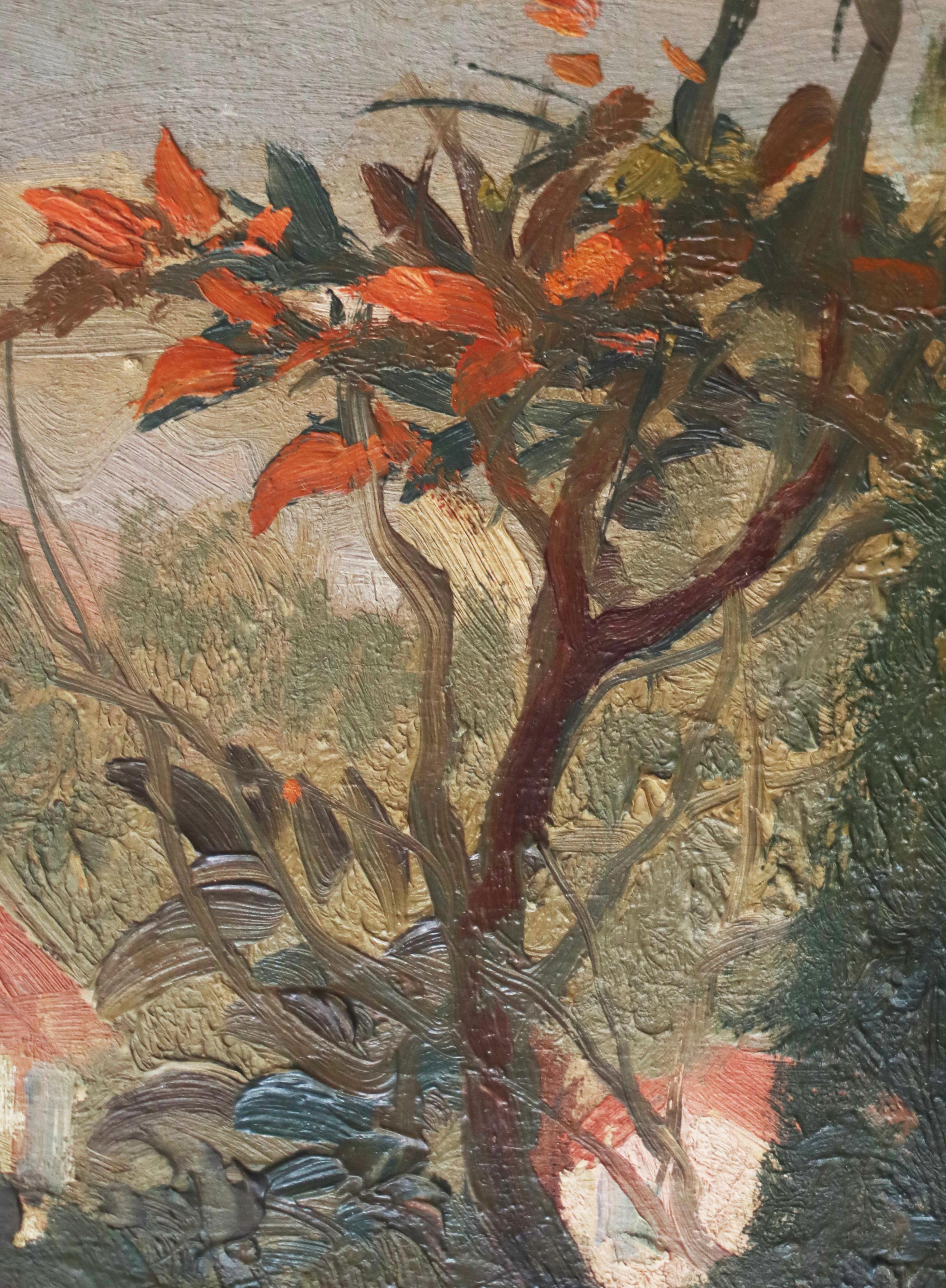 Detail,Van Gogh, branches, Landscape Provence