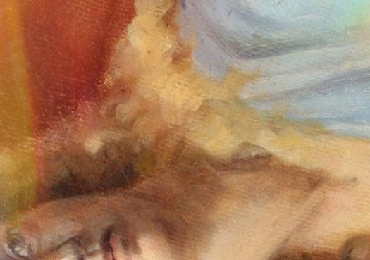 Da Vinci Paesaggio del Valdarno con ponte - Paesaggi dell'Anima