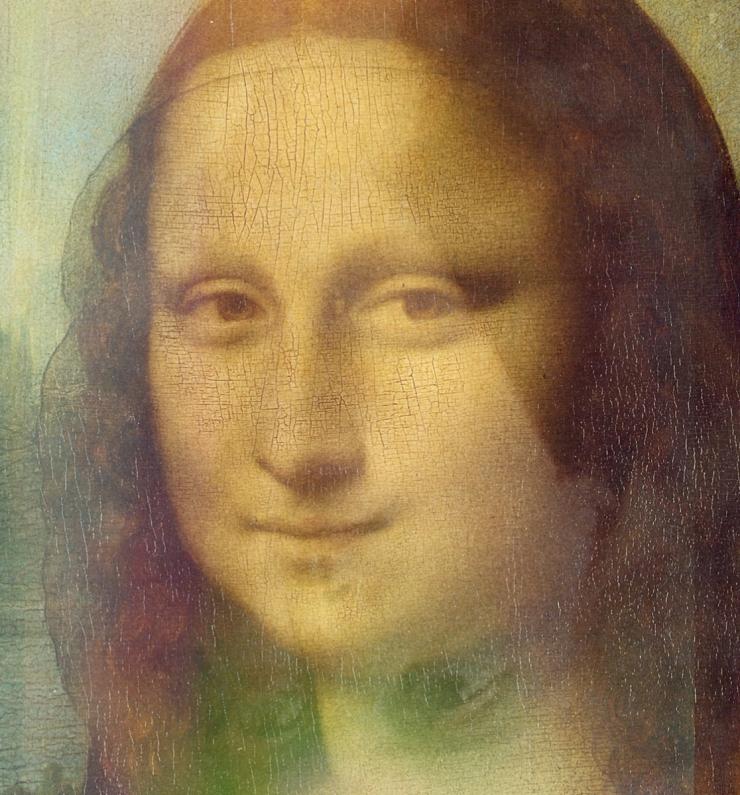Lionardo Vinci - Gioconda - Autoritratto
