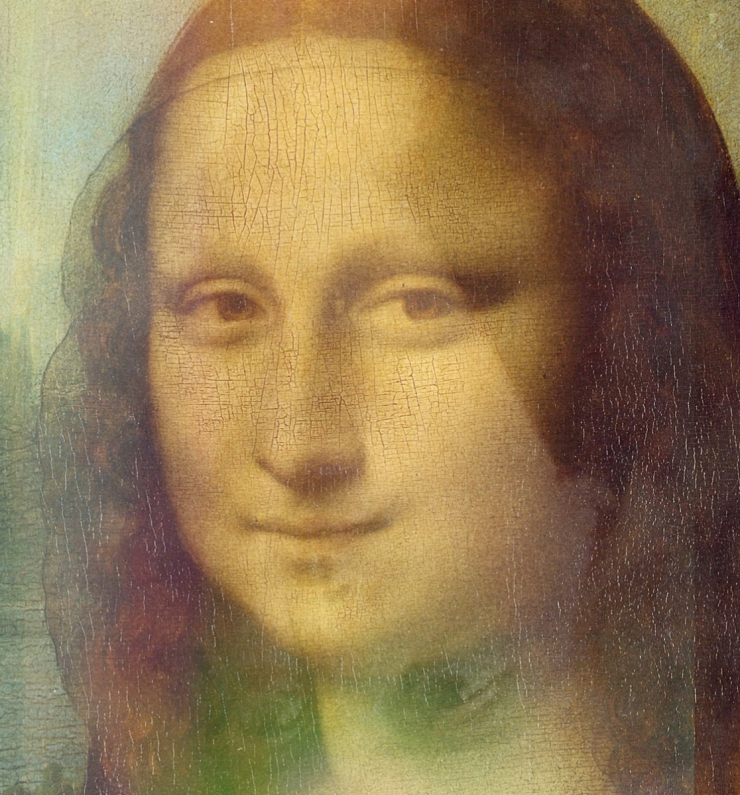 Leonardo da Vinci - Gioconda - Autoritratto