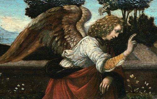 Paesaggi dell'Anima - Leonardo da Vinci - Annunciazione 598