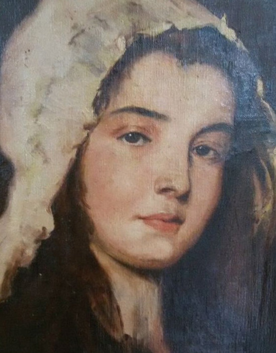Degas, Portrait d'une joune femme, étude