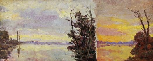 Claude Monet Landscape study - Paesaggi dell'Anima