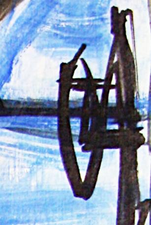Pablo Picasso Landscape view - Le peintre