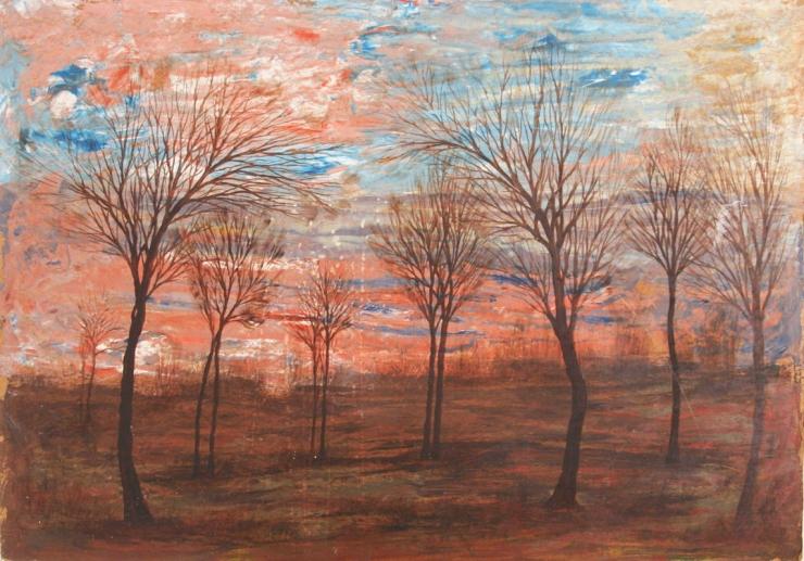 Egon Schiele Landscapes, Bohemian landscape - Paesaggi dell'Anima