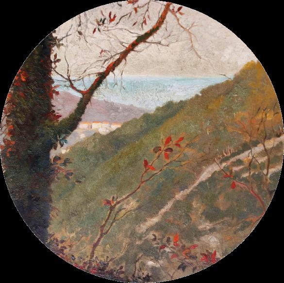Van Gogh Landscape Provence- detail