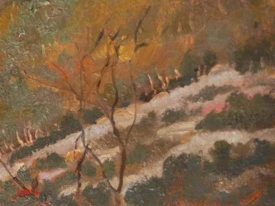Van Gogh Paesaggio provenzale (Detail) - Hill